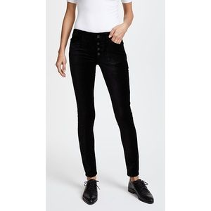 DL1961 Emma Power Leggings Velvet Skinny Jeans